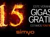 Simyo regala 15 GB a sus clientes en verano de 2018