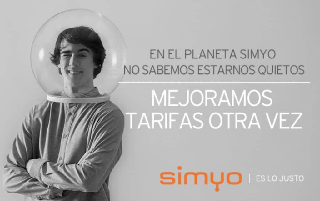 las tarifas de movil de Simyo son aún más baratas desde marzo de 2020