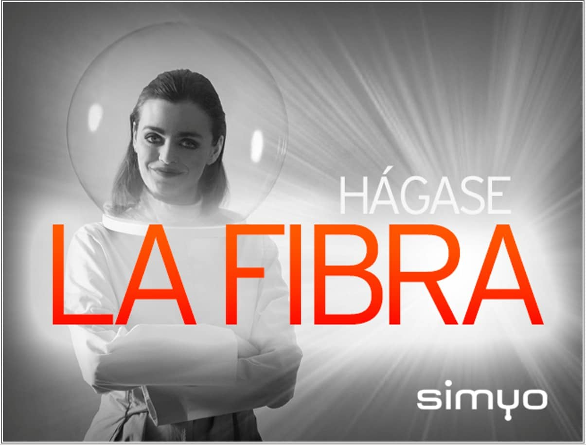 Fibra Simyo, tarifa y ofertas de fibra óptica en casa
